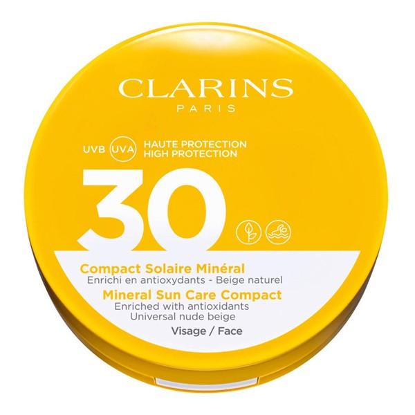 Image of Clarins Crème Solaire Visage Solaire Visage Compact SPF30
