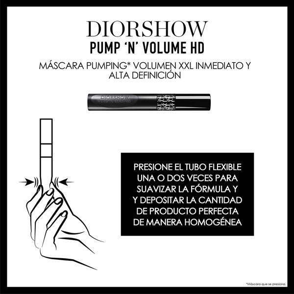 Máscara Pumping Volumen XXL inmediato - Efecto pestañas multiplicadas - Fórmula Alta Definición