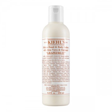 Deluxe Hand & Body Lotion with Aloe Vera & Oatmeal Grapefruit