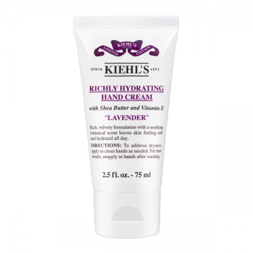 Kiehls Richly Hydrating Hand Cream Lavander
