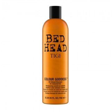 Bed Head Colour Goddess Oil Infused Shampoo for Coloured Hair
