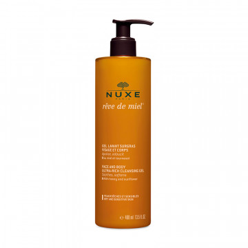 Face and Body Ultra-Rich Cleansing Gel Rêve de miel