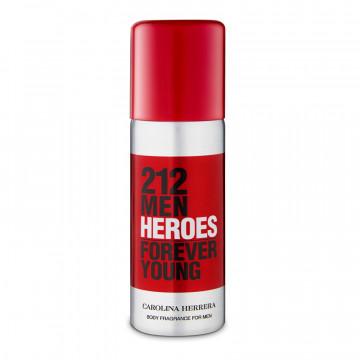 Regalo Carolina Herrera 212 Men Heroe Forever Young Body Fragance 50ML