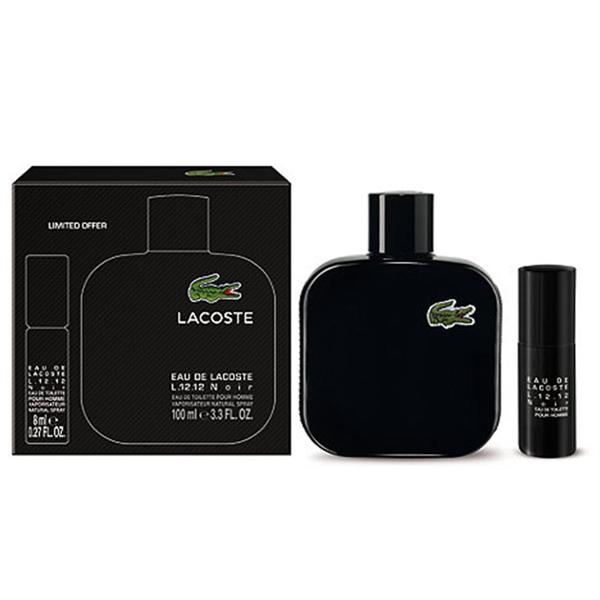 We are sorry, this product is no longer available. Perfume Set for men LACOSTE  Eau Noir L12.12 SET 0e6762d6c9c