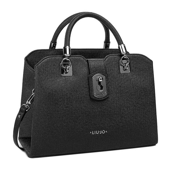 mayor descuento colección completa mejor precio Bolso Shopping Bag Negro N15146 E0087 2222 - Liu.Jo - Sabina ...